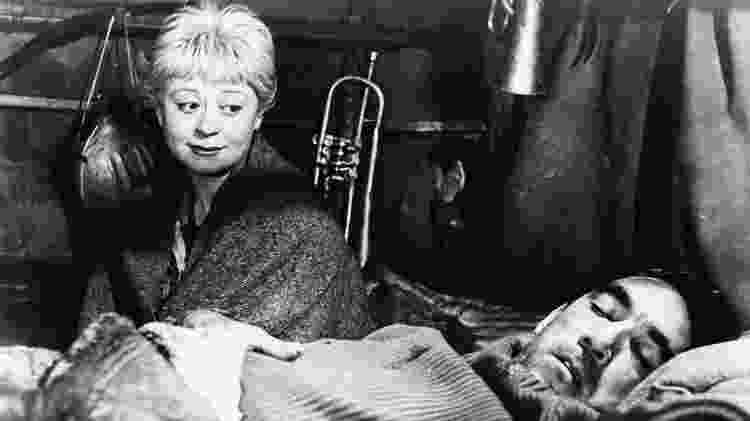 """Cena de """"La Strada"""" (1954) - Reprodução - Reprodução"""