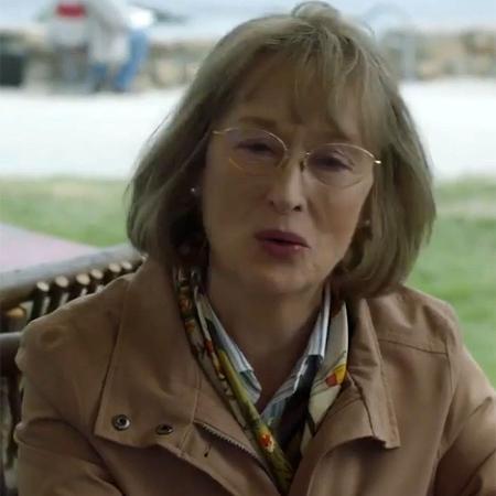 """Meryl Streep é Mary Louise Wright na segunda temporada de """"Big Little Lies"""", série original da HBO - Reprodução"""