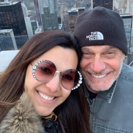 Veruska e Ricardo Boechat - Reprodução/Instagram/@doceveruska