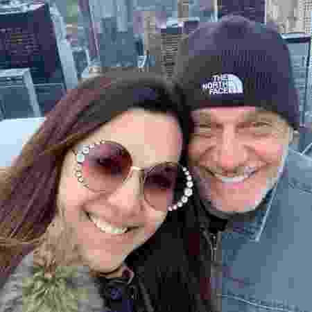 Veruska Seibel  e Ricardo Boechat - Reprodução/Instagram/@doceveruska