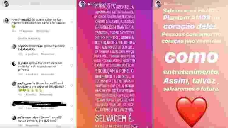Bruno Gissoni expõe seguidora que acusou Yanna Lavigne e escreve textão - Reprodução/Instagram - Reprodução/Instagram