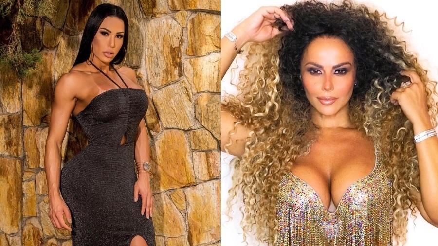 Gracy e Viviane sempre foram comparadas, mas a musa fitness deu um basta - Reprodução/Instagram