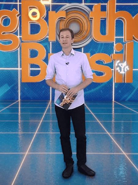 Tiago Leifert apresenta o BBB na Globo  - Reprodução/GloboPlay