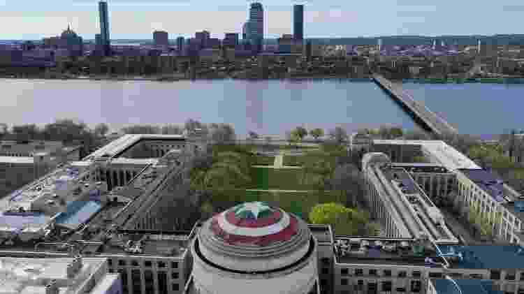 Imagem aérea do MIT - Raymond Huffman/Reprodução - Raymond Huffman/Reprodução
