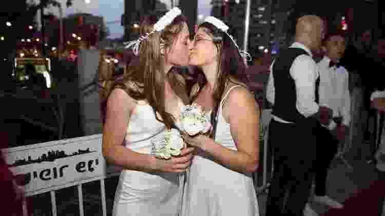 Casamento improvisado em Israel - Instagram/Reprodução - Instagram/Reprodução