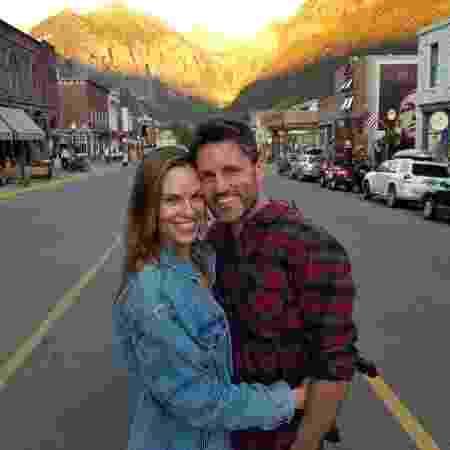 Hilary Swank e Philip Schneider - Reprodução/Instagram