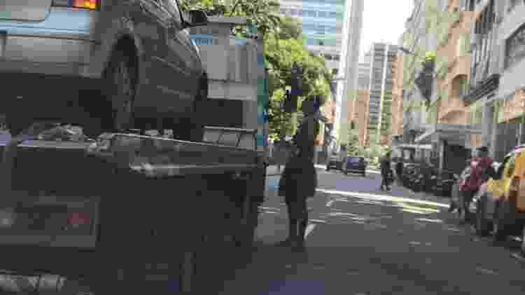 Marcello Melo Jr. em bloco no Rio - Leo Marinho