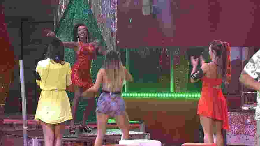 BBB 20: Thelma a festa do líder - Reprodução/Globoplay