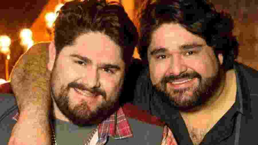 César Menotti e Fabiano participam de reality online - Divulgação