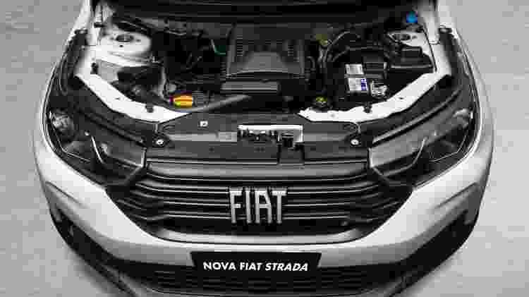Fiat Strada 2021 motor 1.3 Firefly - Divulgação - Divulgação