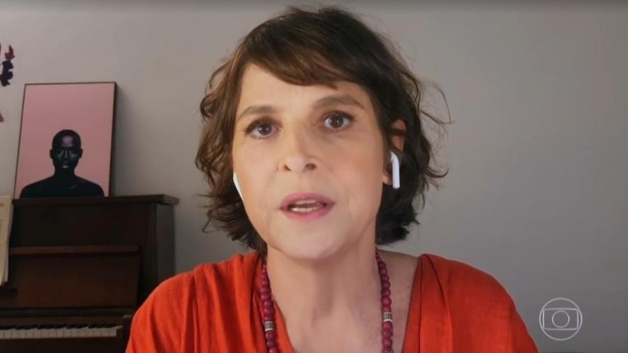 """Drica Moraes no """"Conversa com Bial"""" - Reprodução/vídeo"""