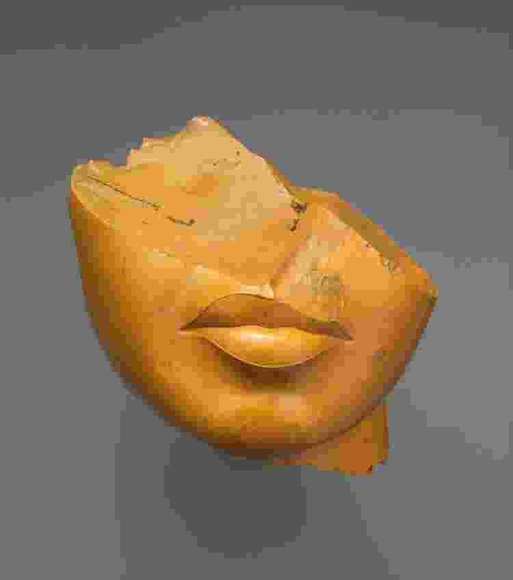 Fragmento do rosto de uma rainha desconhecida, 1353?1336 a.C. - Metropolitan Museum of Art - Metropolitan Museum of Art