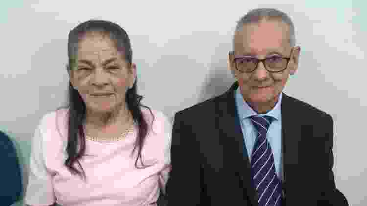 Maria e João - Arquivo pessoal - Arquivo pessoal
