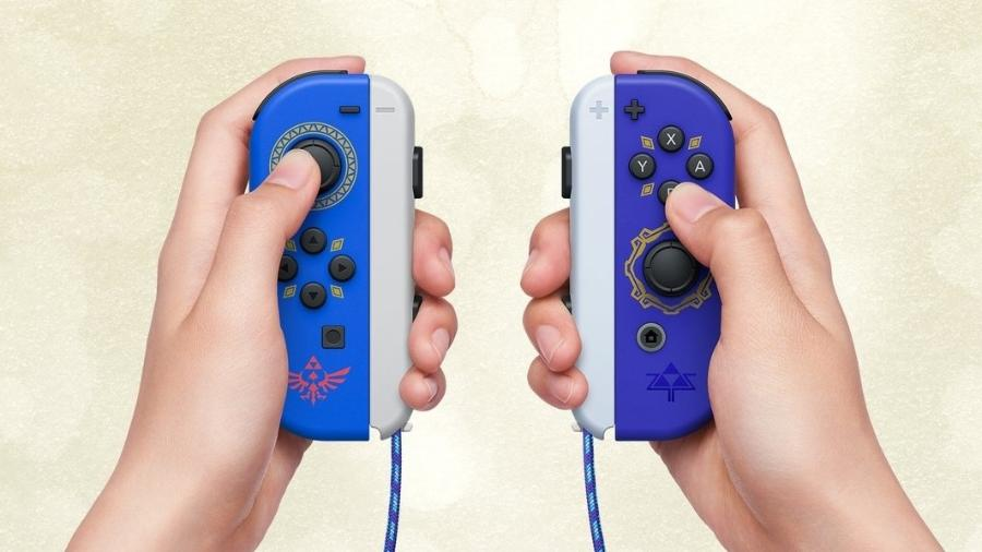 Joy-Con Skyward Sword HD - Divulgação/Nintendo
