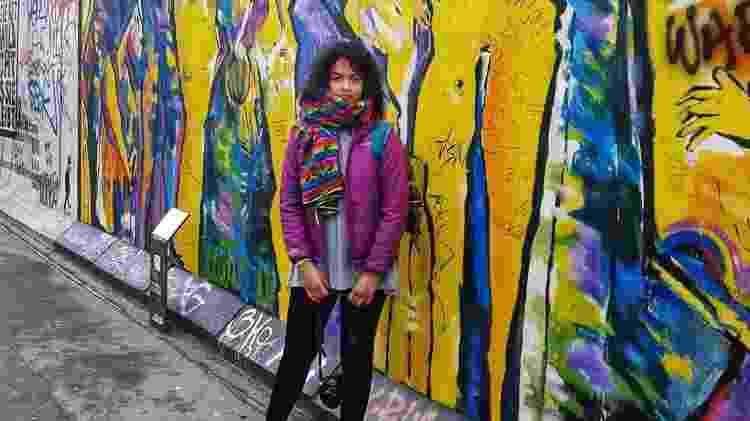 Cláudia Vieira em Berlim - Arquivo pessoal - Arquivo pessoal