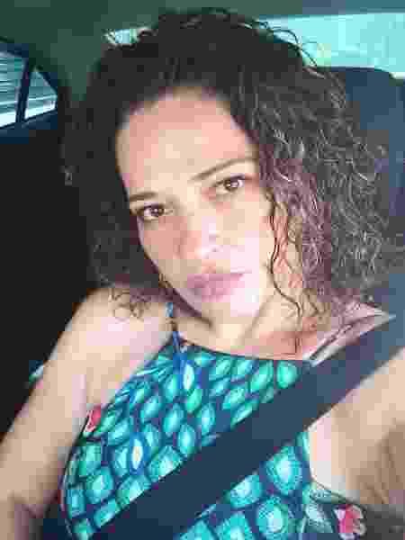 Alexandra Ribeiro, 39 anos, faz corridas por aplicativo - arquivo pessoal - arquivo pessoal