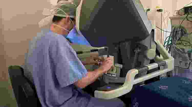 Cirurgia robótica - Divulgação - Divulgação