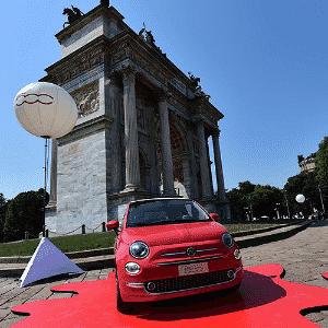 Novo Fiat 500 - Giuseppe Cacace/AFP