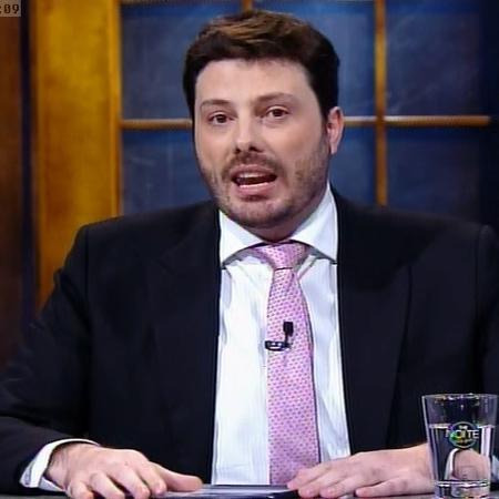 Danilo Gentili - Reprodução/SBT