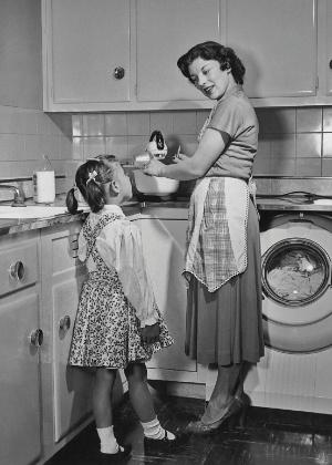 Resultado de imagem para rainha do lar 1950