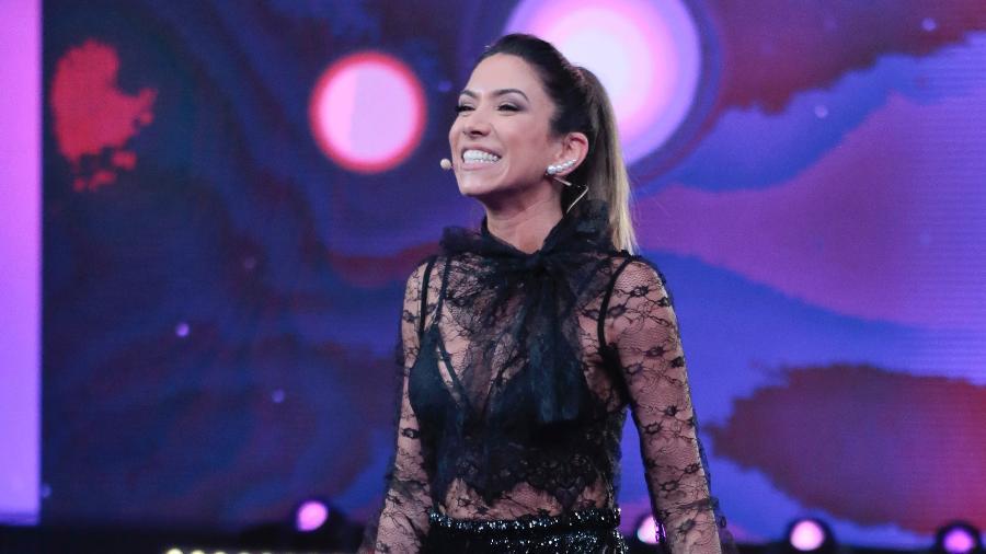 """Patrícia Abravanel no """"bMáquina da Fama""""; ela agora também vai substituir Eliana, aos domingos - Rafael Cusato/SBT"""
