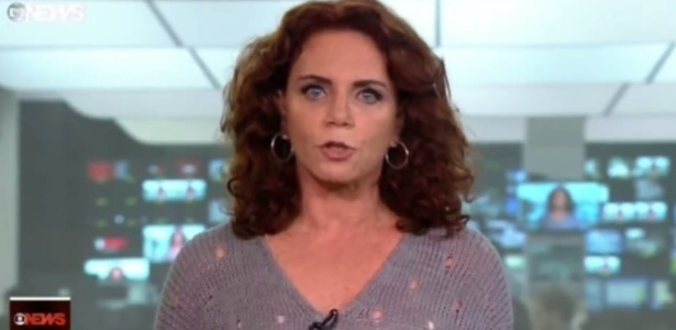 """Leilane Neubarth, apresentadora do telejornal """"Edição das 18h"""", da GloboNews - Reprodução/GloboNews"""