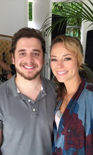 Paolla Oliveira e Andrey Lopes atuam juntos no filme