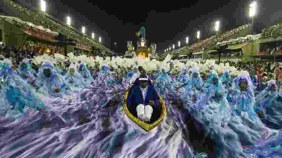 Em 2017, Portela quebrou um jejum de mais de duas décadas e foi campeã do Carnaval - Bruna Prado/UOL