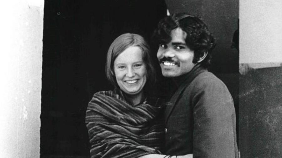PK Mahanandia e Charlotte Von Schedvin se encontraram pela primeira vez em 1975  - PK Mahanandia