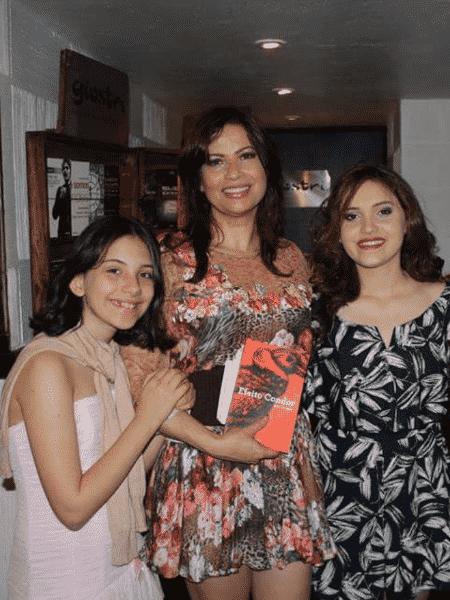 Isadora Ribeiro com as filhas, Valentine e Maria - Rogério Fidalgo/Divulgação - Rogério Fidalgo/Divulgação