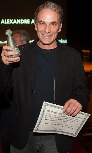 Cerimônia de entrega do 60º Prêmio da Associação Paulistas de Críticos de Arte (APCA), que ocorreu no Teatro Municipal de São Paulo