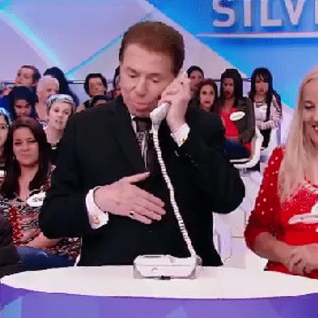 Em trote, Silvio Santos se passa por representante da SKY - Reprodução/SBT
