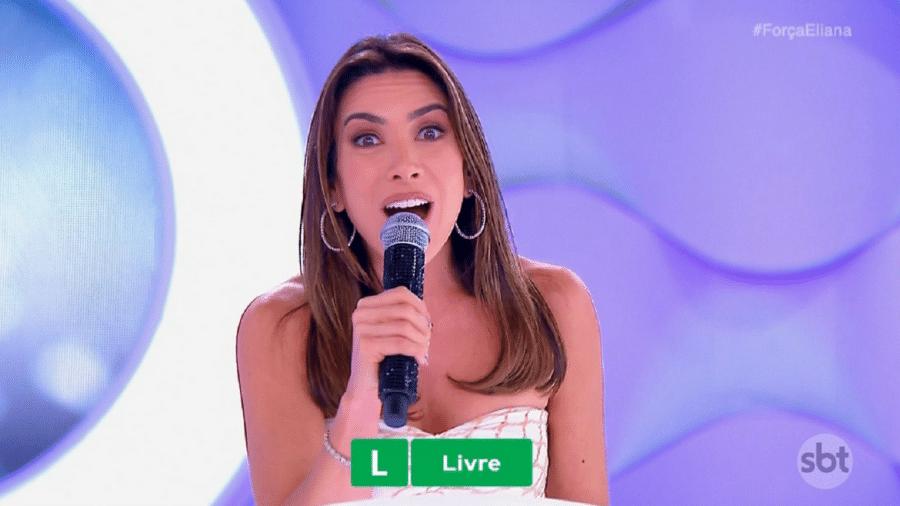 Patricia Abravanel estreia aos domingos no lugar de Eliana, afastada por ordem médica - Reprodução/SBT