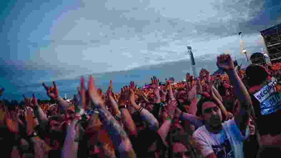 Festival Bravalla, na Suécia - Reprodução/Instagram