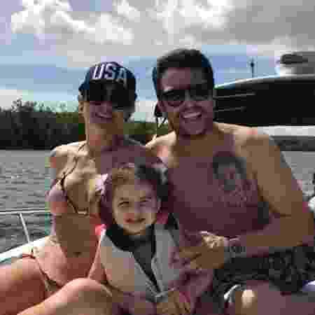 Mirella Santos e Ceará com a filha, Valentina - Reprodução/Instagram - Reprodução/Instagram