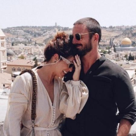 Fernanda Paes Leme e o namorado, Vinícius Longato - Reprodução/Instagram/fernandapaesleme