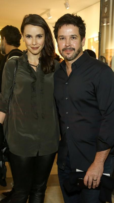 Débora Falabella e Murilo Benício em inauguração de teatro no Rio - Roberto Filho / Brazil News