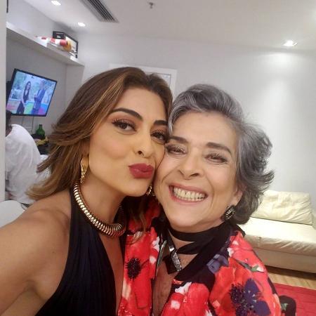 Juliana Paes e Betty Faria - Reprodução/Instagram