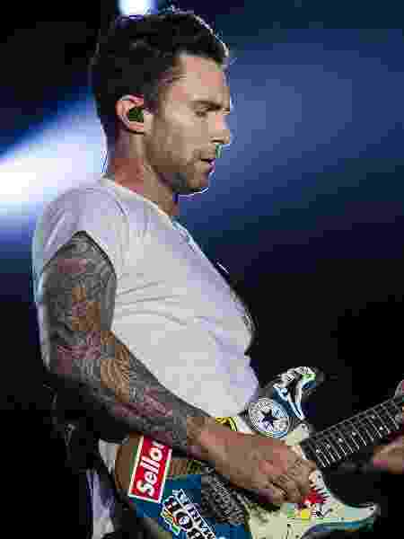 Adam Levine, do grupo Maroon 5  - Bruna Prado/UOL