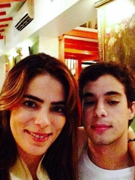 Helô Faissol com o filho, José Arthur Gerdes - Reprodução/Instagram