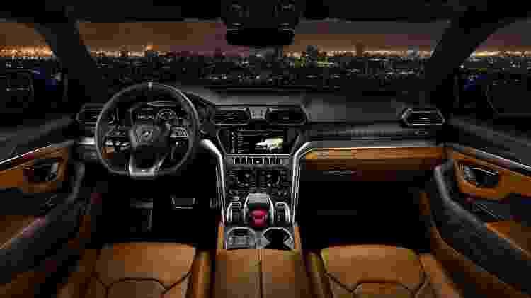 Lamborghini Urus interior - Divulgação - Divulgação