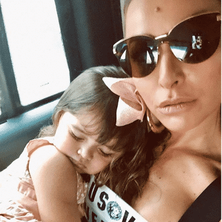 Sabrina Sato com Manuela, sua sobrinha - Reprodução/Instagram/sabrinasato