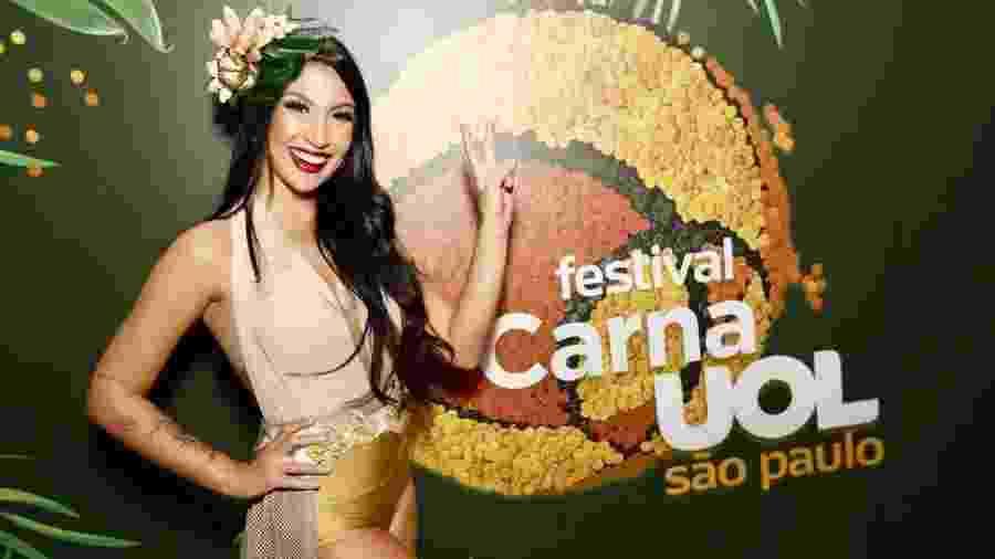 Bianca Andrade, a Boca Rosa, embaixadora do CarnaUOL - Mariana Pekin/UOL