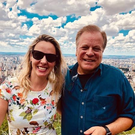 Leda Rielli e Chico Pinheiro - Reprodução/Instagram
