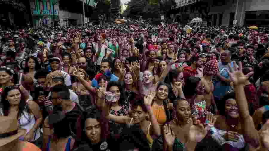 No ano passado, o Carnaval na capital mineira reuniu um público recorde de 3,8 milhões de pessoas - Nereu Jr/UOL