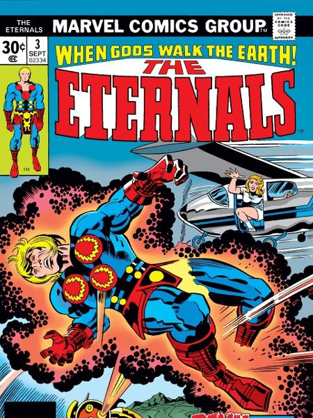 """Capa de HQ da série """"Os Eternos"""" - Reprodução/Marvel"""