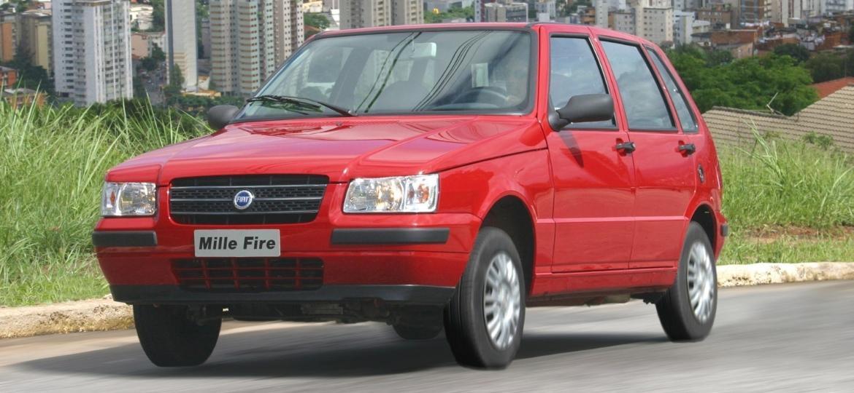 6140ccdda11 Fiat Mille ainda é bastante procurado no mercado de carros seminovos e  usados Imagem  Divulgação