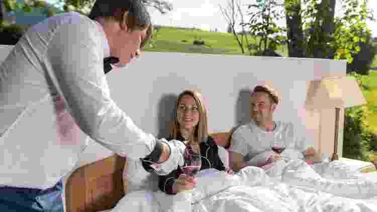 No Zero Real Estate, os turistas não precisam sair da cama para curtir a viagem - Divulgação/Toggenburg Tourism - Divulgação/Toggenburg Tourism