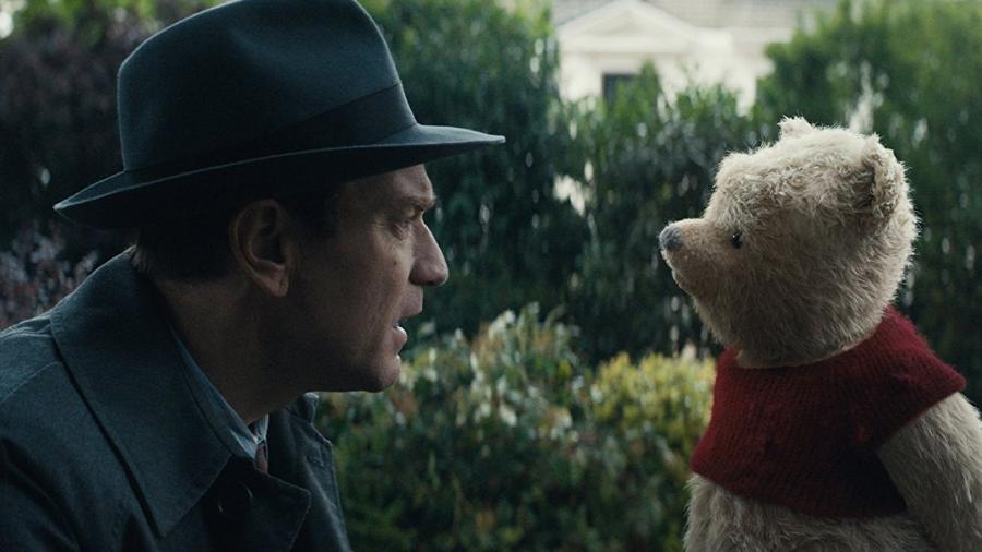 """Ewan McGregor em cena de """"Christopher Robin: Um Reencontro Inesquecível"""" - Reprodução"""