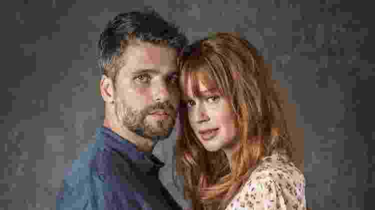 Gabriel (Bruno Gagliasso) e Luz (Marina Ruy Barbosa) serão o casal que sofrerá para ficar junto - João Cotta/Globo